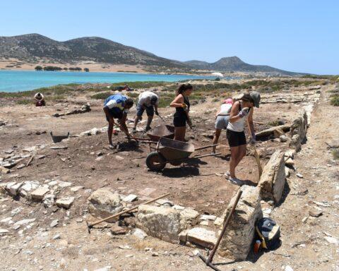 Σημαντική πρόοδος στην ανασκαφή του Δεσποτικού, παρά τις δυσκολίες....