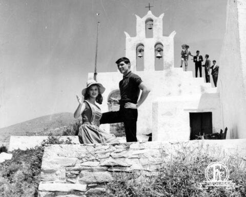 Η διεθνής κινηματογραφική παραγωγή της Αλίκης Βουγιουκλάκη, τα γυρίσματα στην Ίο, ο Ναξιώτης παπάς και το τέχνασμα της παραγωγής για να γίνουν γυρίσματα στην εκκλησία