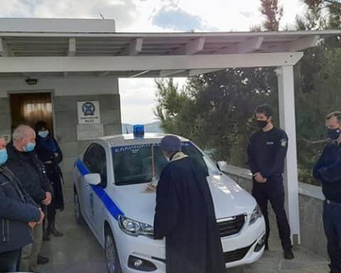 Δωρεά ενός περιπολικού για τις ανάγκες του Αστυνομικού Σταθμού Σίφνου