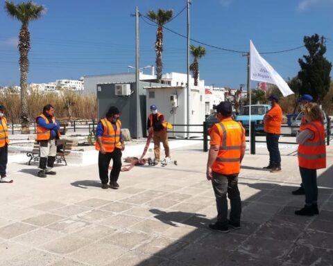 Εξι πιστοποιημένοι εθελοντές στην δασοπυρόσβεση από την Πολιτική Προστασία δήμου Νάξου και Μ. Κυκλάδων