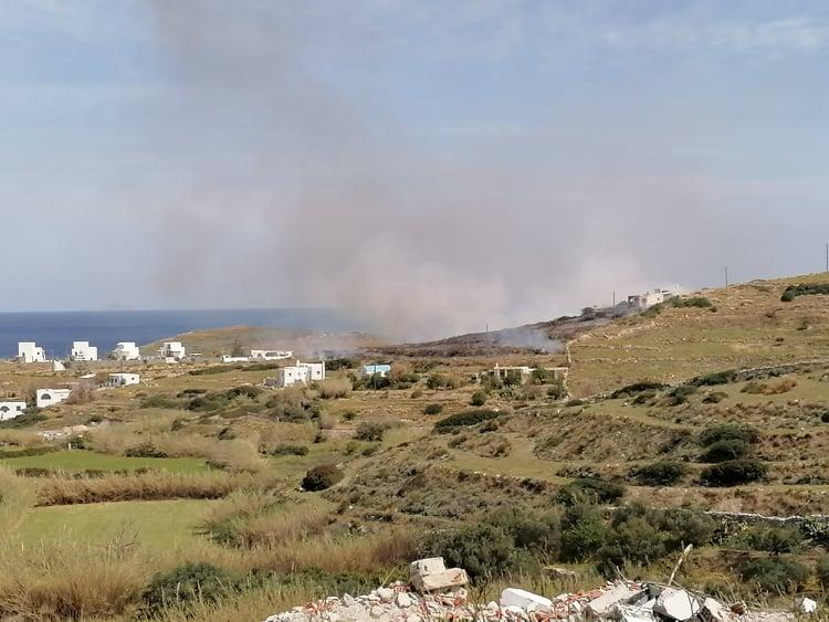 ΕΚΤΑΚΤΟ: Αυτή την ώρα, φωτιά σε περιοχή, στην Γαλήνη Νάξου