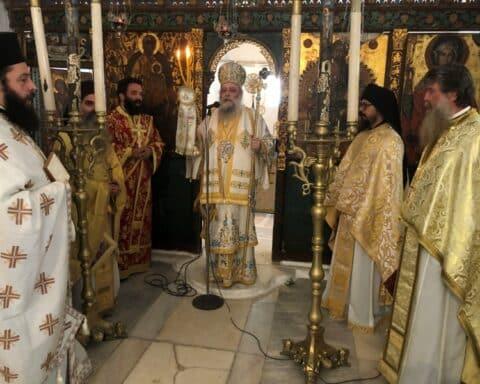 Νέος Ηγούμενος της Ιεράς Μονής Φανερωμένης Νάξου