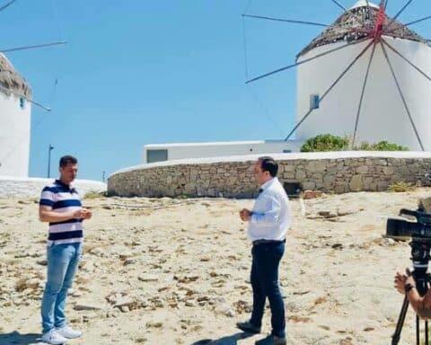 Μήνυμα αισιοδοξίας και αυτοπεποίθησης για την επερχόμενη τουριστική περίοδο από τον δήμαρχο Μυκόνου
