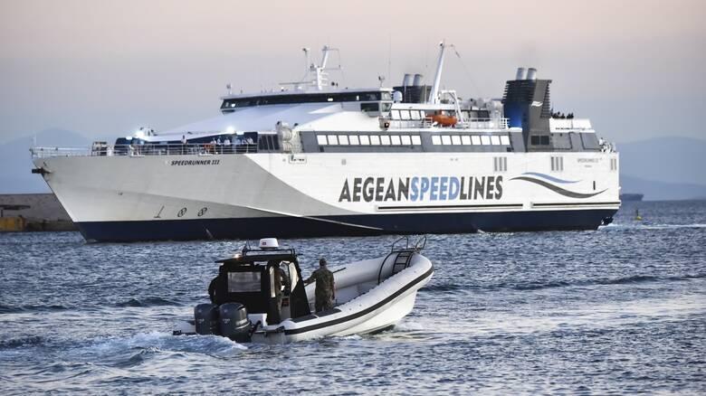 Συναγερμός στη Σέριφο μετά από απειλή για βόμβα σε πλοίο