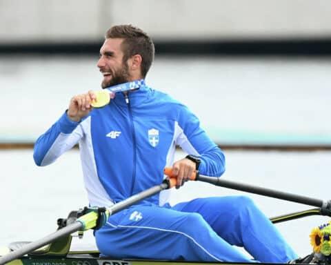 Χρυσό μετάλλιο: Ο Στέφανος Ντούσκος έκανε την κούρσα της ζωής του!