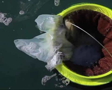 Σύστημα SeaBin και στο λιμάνι της Νάξου
