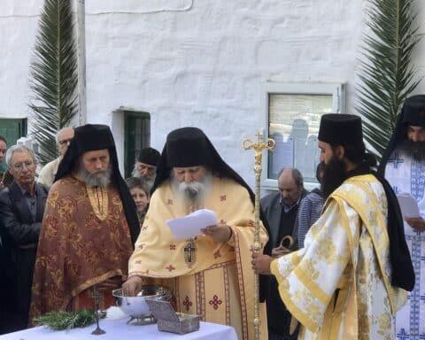 Εκοιμήθη ο εμβληματικός Ηγούμενος της Ι. Μονής Λογγοβάρδας, γέροντας Χρυσόστομος Πήχος