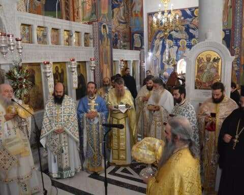 Το Τίμιο Λείψανο του Αγίου Καλλινίκου στη Νάξο